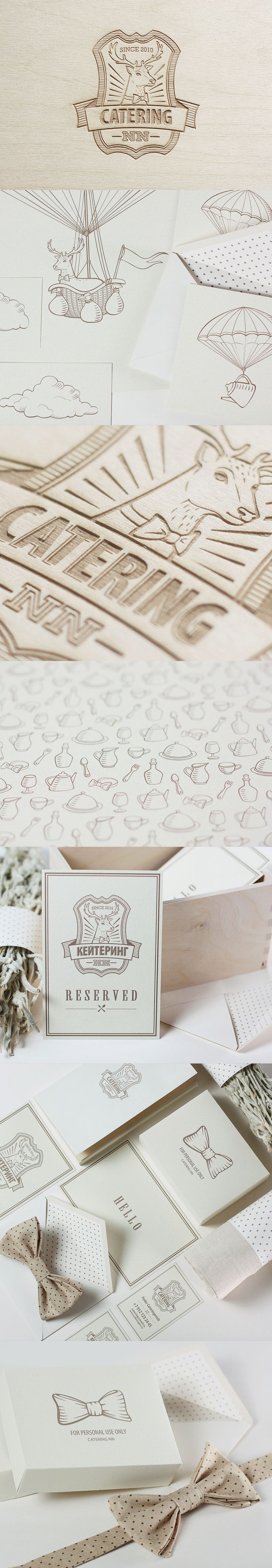 Catering Identity LOVE all of the design