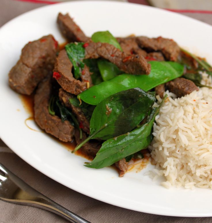 Beef Basil - Cooking with Tenina