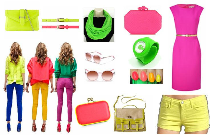 Neon-pop-colour-trends-latest-fashion-2012