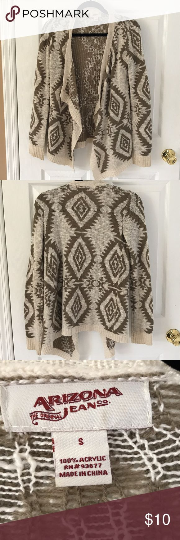 Tribal print cardigan Tribal print cardigan Arizona Jean Company Sweaters Cardigans