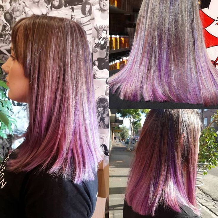 Jewel Toned Highlights Using Pravana Hair Pinterest