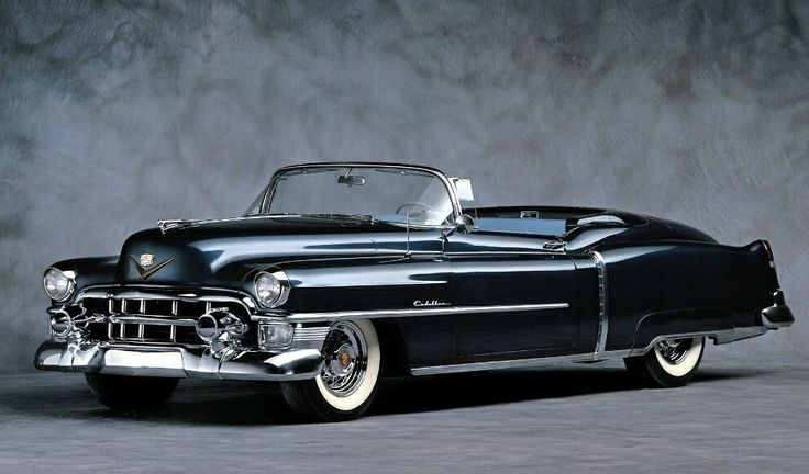 Top most beautiful cars of the 1950's - Swide - Cadillac Eldorado (1954).