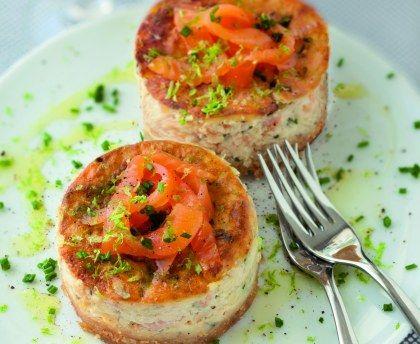 cheesecake au saumon fumé : Recette de cheesecake au saumon fumé - Marmiton