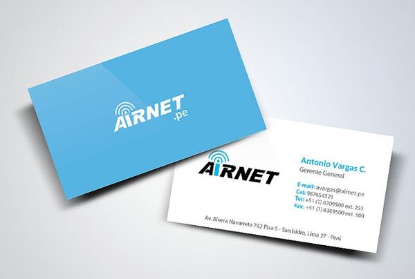 Business Cards Design Creative Examples 27 – Name Card Example