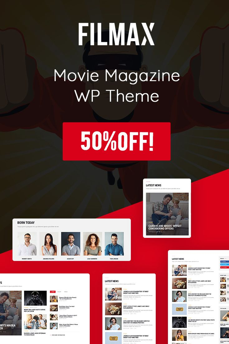 #Filmax & Chill with the Newest  Online #Magazine & #Movie Reviews #WordPress Theme for the Best Price You Can Imagine - 💲29  🔥