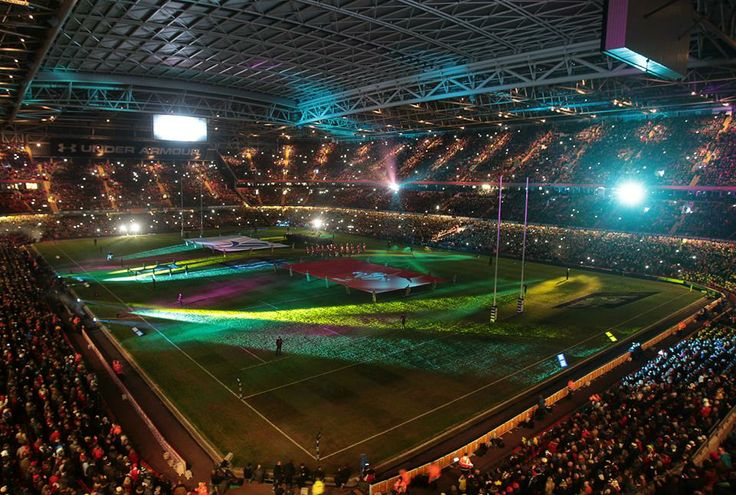 Six Nations. Wal 27 v 6 Fra. Beautiful game opening rave @ Millenium Stadium. Bless this place.