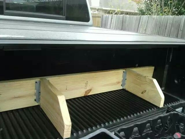 Raised Bed With Drawers
