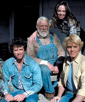 The Dukes Of Hazzard.   What made this especially nice is that one of my favorite singers (Waylon Jennings) did the title song and narration.