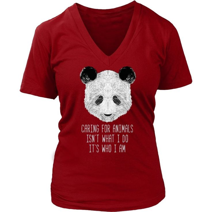 Caring for animals isn't what I do it's who I am Animal Rescue T Shirt - District Unisex Shirt / Navy / S | Unique tees, hoodies, tank tops  - 1