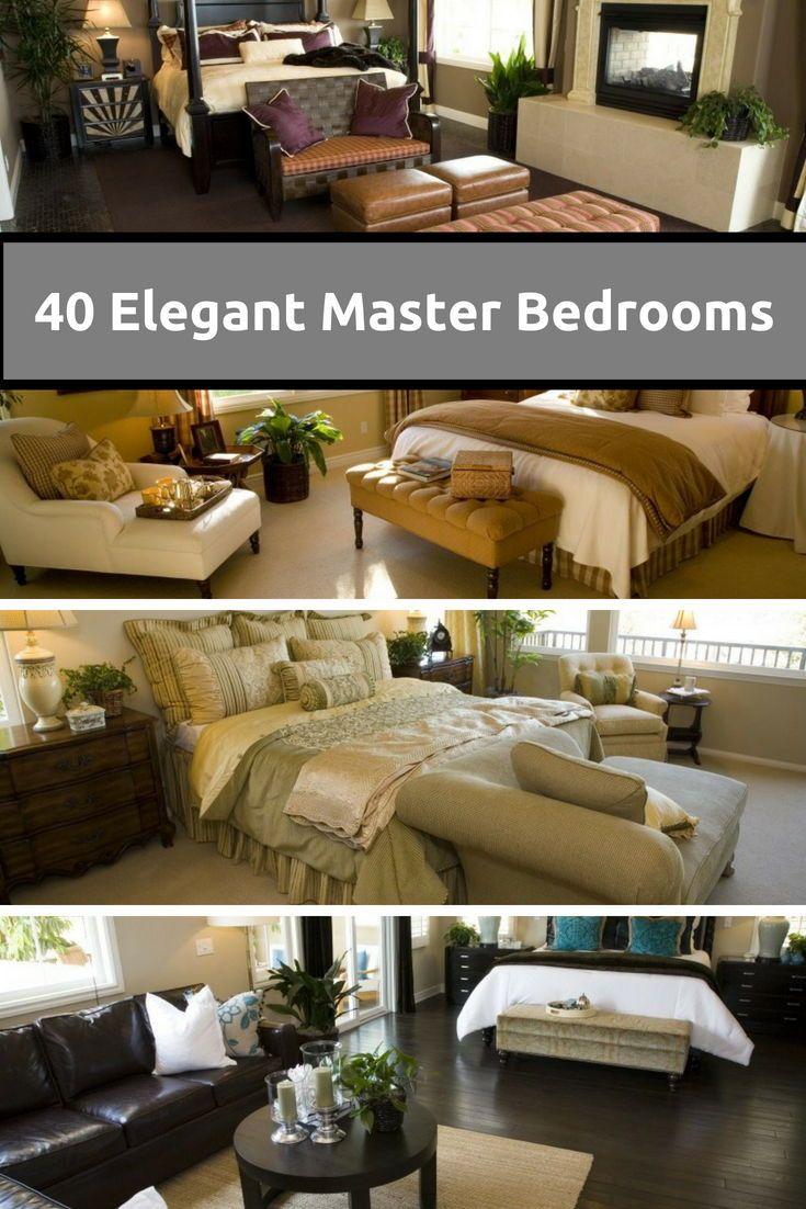 40 Elegant Master Bedroom Design Ideas 2019 Image Gallery Elegant Master Bedroom Master Bedroom Design Master Bedroom