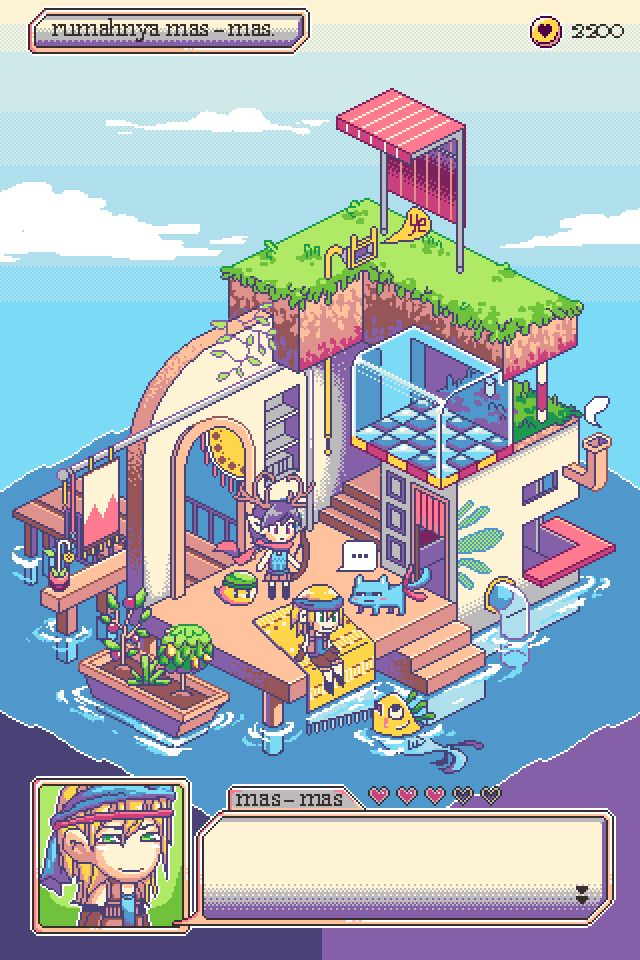 It's Home by crystalnyam #pixelart #game #design