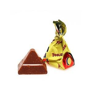Le Toblerone prenant la forme d'une grosse barre chocolatée, afin de toucher un autre public la marque a lancé un format de chocolat Toblerone à l'unité, vendus en sachet. C'est un format plus convivial et plus familiale, facile à partager et sympathique lors d'occasions de rencontres particulières.