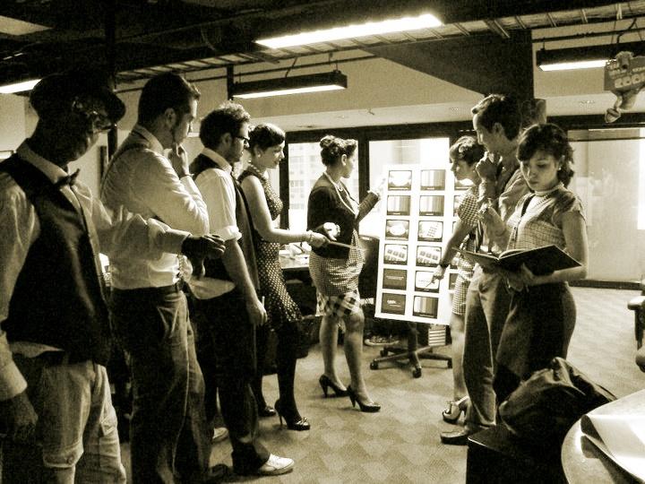Dándole vida al día del publicista 2010 Fiesta MAD MEN Leo Burnett Caracas
