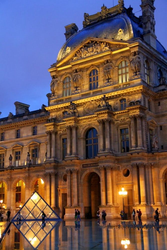 The Louvre, Paris, France....I will never forget being excited to see the Mona Lisa but was so surprised to see it wasn't a larger painting!