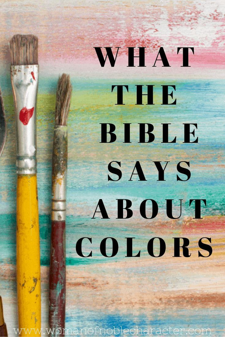 - Colors In The Bible: Rich With Meaning And Symbolism Colors In