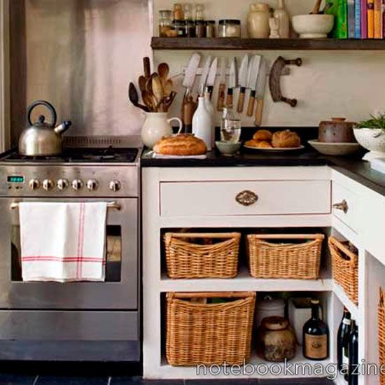roomenvy - small country kitchen