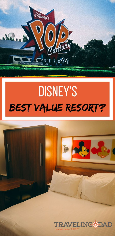 Best Disney value resort - Pop Century