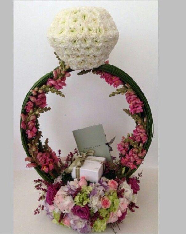 bridal gifts wedding gifts wedding ideas flower arrangements gift ...