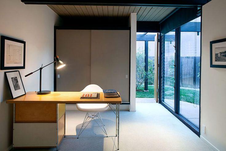 mid-century modern in Sherman Oaks - Richard Dorman - studio