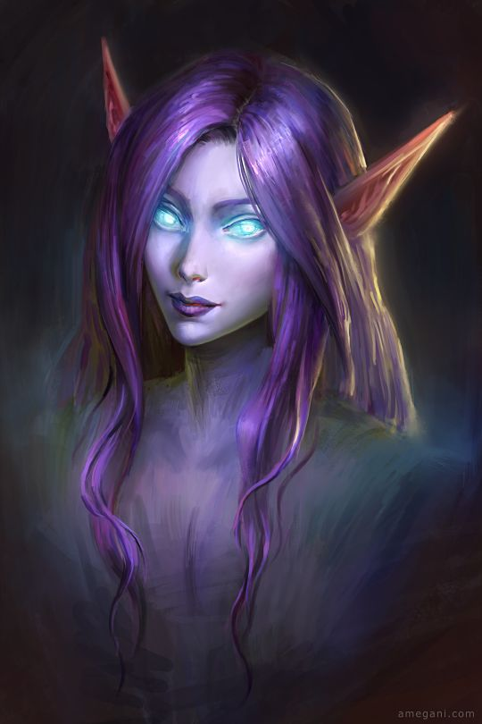 night elf wow