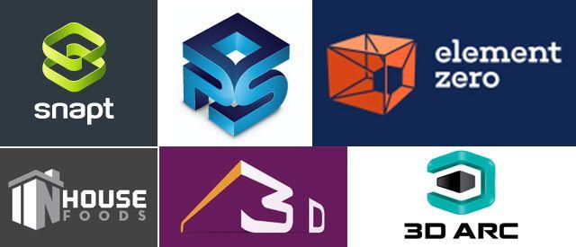 Inspiring 3D Logo Designs