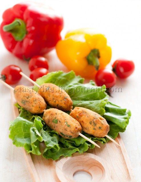 Вегетарианские кебабы