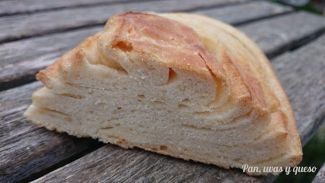 Pan de hojaldre           Todo lo bueno que os diga de este pan se queda cortoEs increíble, de los que no duran ni un asalto.        La receta es...