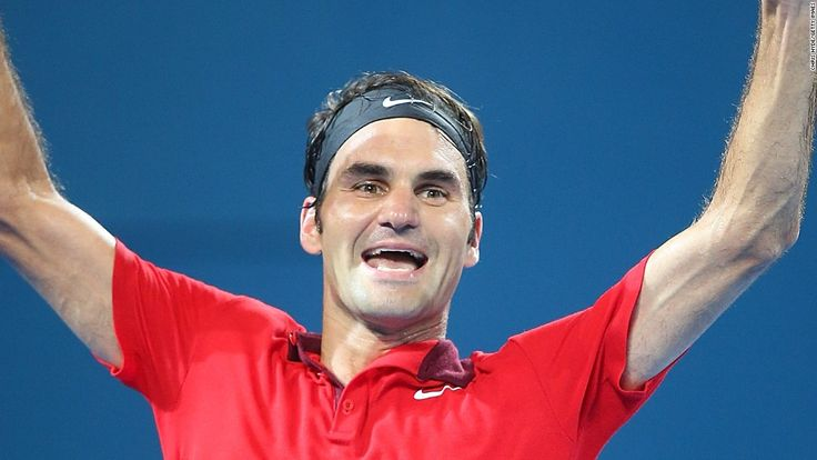 VIDEO: 1,000th win for Roger Federer as he takes Brisbane title  http://edition.cnn.com/2015/01/11/tennis/tennis-federer-1000-brisbane/  http://www.atpworldtour.com/News/Tennis/2015/01/1/Brisbane-Sunday-Final-Federer-Raonic.aspx  http://www.bbc.com/sport/0/tennis/30767424   http://abcnews.go.com/Sports/wireStory/federer-notches-1000th-match-win-claims-brisbane-title-28146575