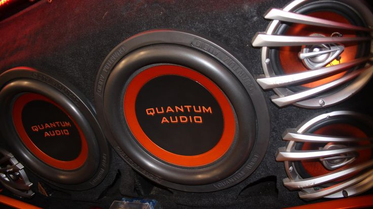 Old School Quantum Audio Subwoofers and Speakers