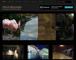 PhotoMadness Website Template  Web Site Design Arizona| #WebDesignArizona #webdesign #Website #Templatedesign