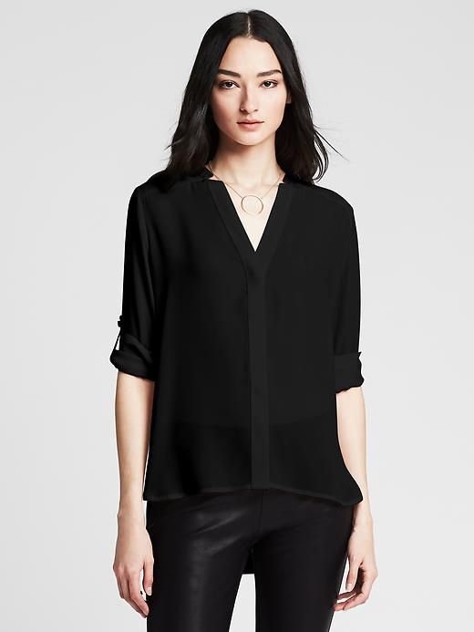 High-Low Blouse Product Image