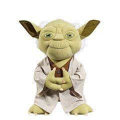 Star Wars: Episode VII The Force Awakens 24-in. Super Deluxe Talking Yoda Plush