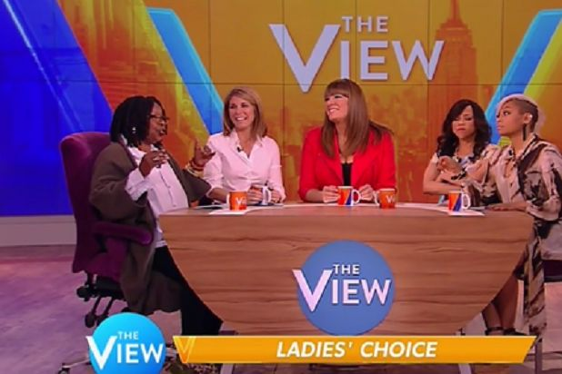 "Never mind the fiery rhetoric that will no doubt fill debates during the presidential election season — the panel of ""The View"" got an early jump on the heated back-and-forth during a discussion about voting on Thursday. The exchange began civilly enough, with a chat about the need to encourage more women to vote and the fact that female Republican candidate Carly Fiorina might be excluded from the first debate on Fox News and CNN because of her low poll numbers. Comedian Michelle Collins…"