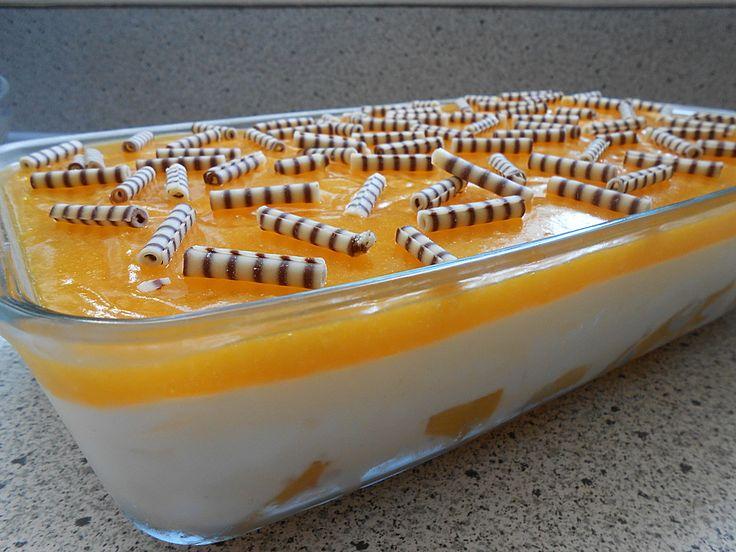 Verpassen Sie kein Rezept, folgt uns auf Facebook, klicken sie hier.  Zutaten  1 gr. Dose/n Pfirsich(e), gewürfelt  500 g Joghu...