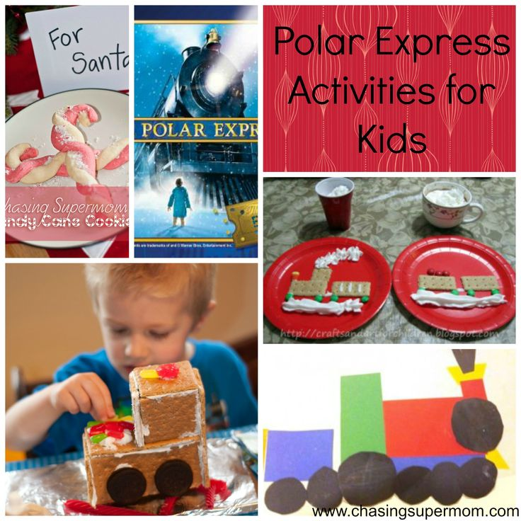 Polar Express Activities for Kids - Crafts, mini-books, printables, recipes, and more!
