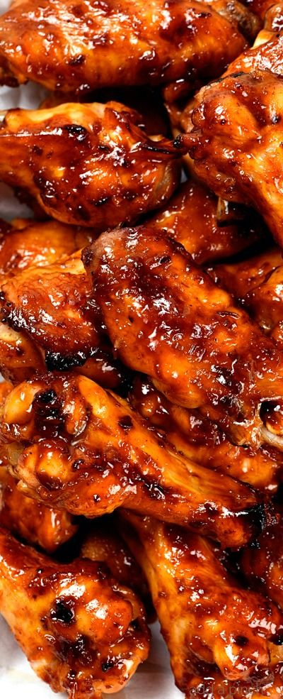 Baked Korean Chicken Wings ~ Chicken Wings are always a favorite appetizer, snack, or even an entree... These sweet and spicy baked Korean chicken wings will quickly become a favorite for all of your gatherings!