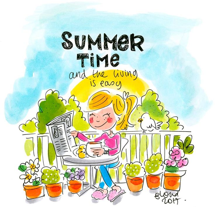 Summer time 2017 and the living is easy By Blond