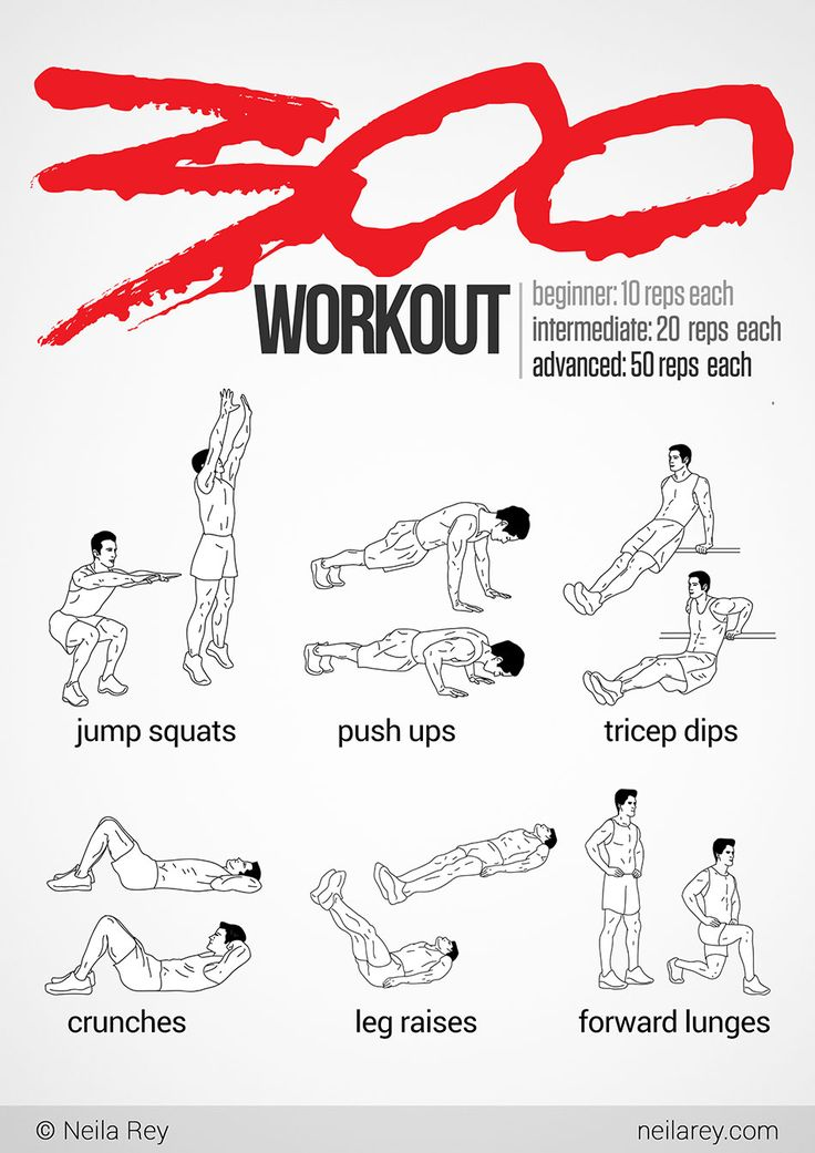300 workout this would be fun to do every once in a while exercises pinterest u want 300