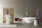 Vasca da bagno centro stanza ovale in Korakril™ FONTE | Vasca da bagno centro stanza - Rexa Design
