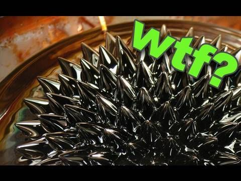 Ferro-Fluid - Check this video out. It is so cool and amzing!!!!!!!!!