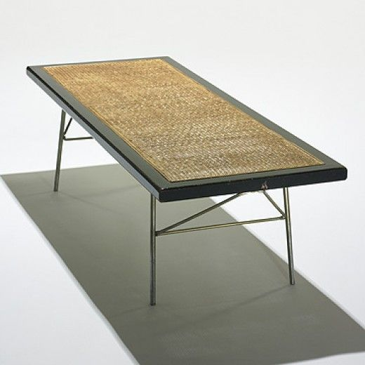 George Nelson Associates 5291 Cane Bench For Herman Miller C1954 Coveted Furniture
