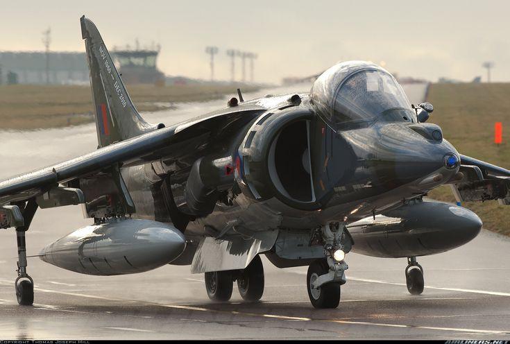 British Aerospace Harrier GR9A; Cottesmore, UK