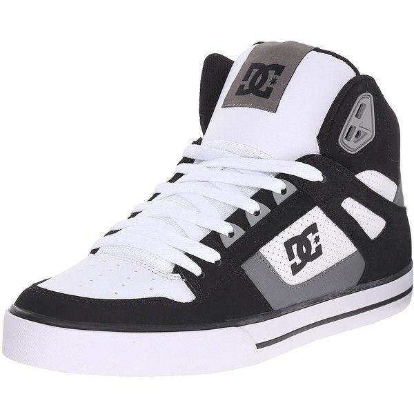 Amazon.com: DC Men's Spartan High WC Skate Shoe: Shoes (155 BRL) ❤ liked on Polyvore featuring men's fashion, men's shoes, men's sneakers, mens skate shoes, mens sneakers and mens shoes