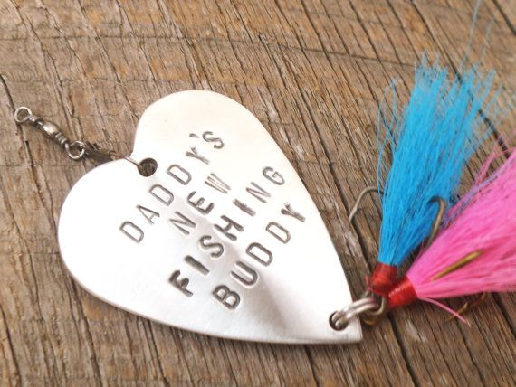 New Parents Gift for Dad or Mom Daddy's New by CandTCustomLures, $34.00
