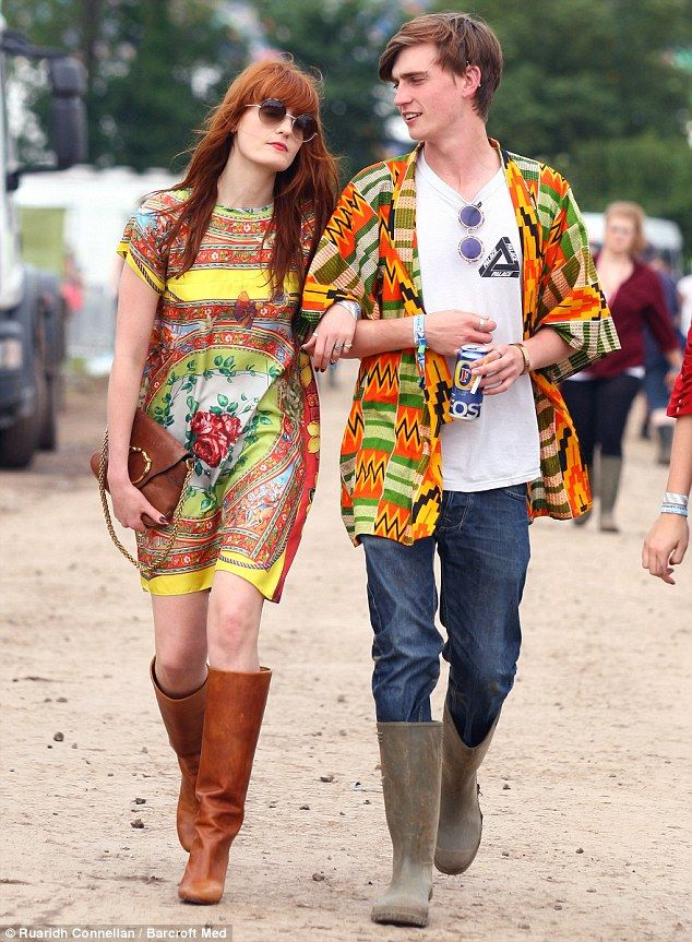 Celeb Style: Florence at Glastonbury. Shop Festival Shop at Fuse Fashion Network.