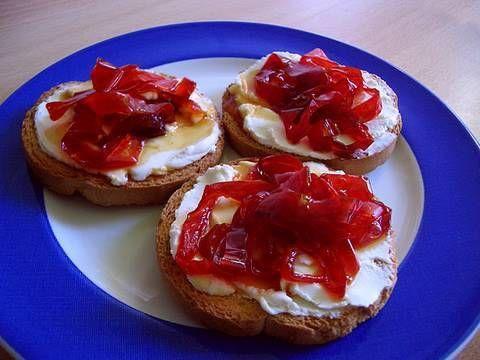 Video receta de pimientos caramelizados para hacer - Hacer mermelada de pimientos ...