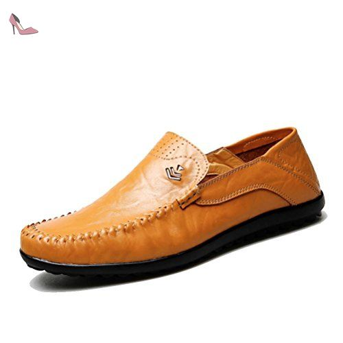 Sacha Brun Casual Chaussures Hommes Occasionnels Avec Lacer hweUPI
