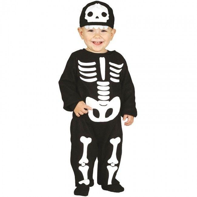 Disfraz de Esqueleto Huesos para bebé #disfraces #carnaval #novedades2017