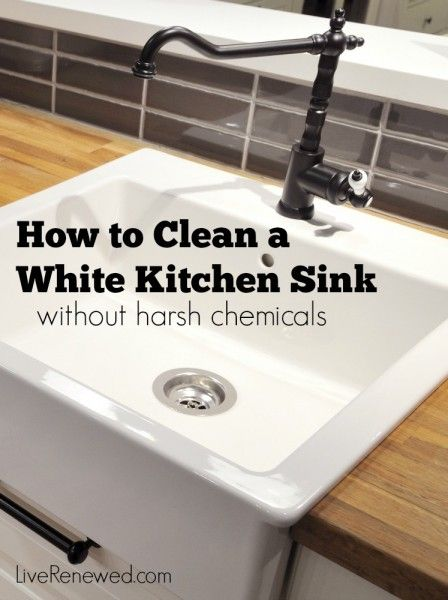 how to clean white kitchen sink 17 best images about home made cleaning products on 8591