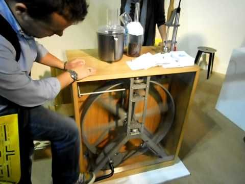 R2B2 Manual Coffee Grinder at Salone Satellite 2011 - YouTube